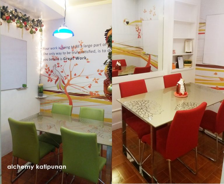 Meeting Room for 4 pax Alchemy Business Center Quezon City