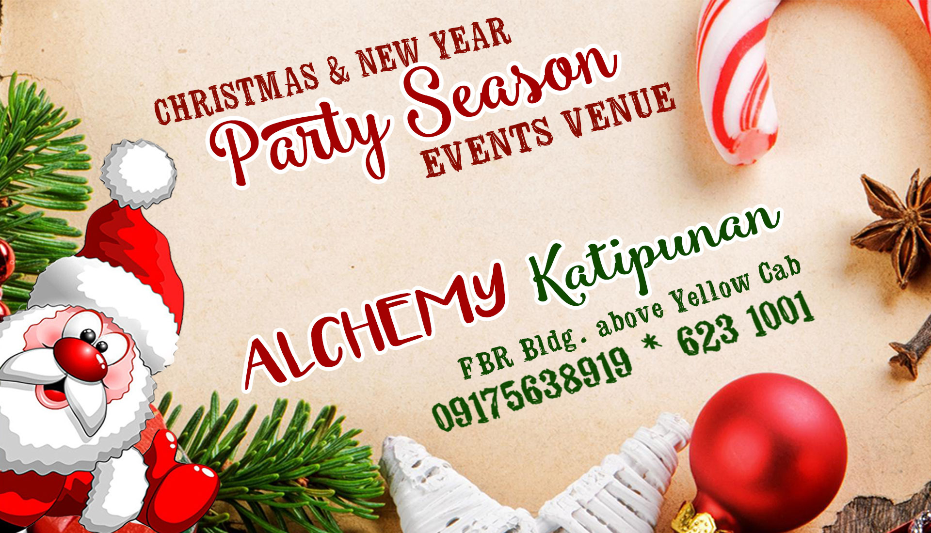 Party Venue at Alchemy Katipunan