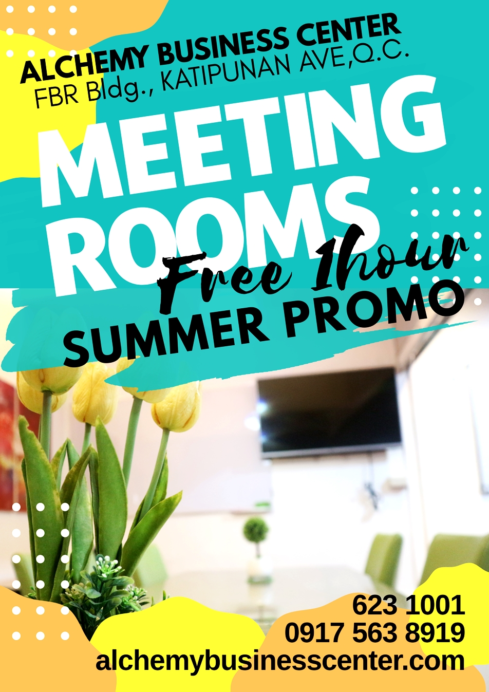 Meeting Room Rent Free 1 hour