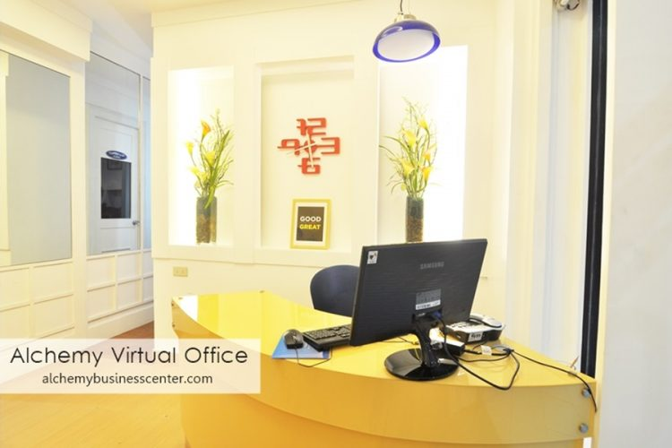 VIRTUAL OFFICE QUEZON CITY - ALCHEMY BUSINESS CENTER